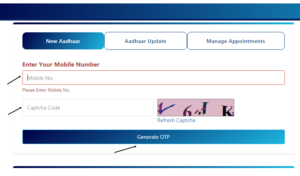 How to Book Appointment Online for Aadhar Enrolment, update in hindi (2)