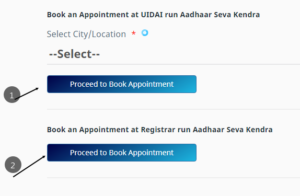 How to Book Appointment Online for Aadhar Enrolment, update in hindi