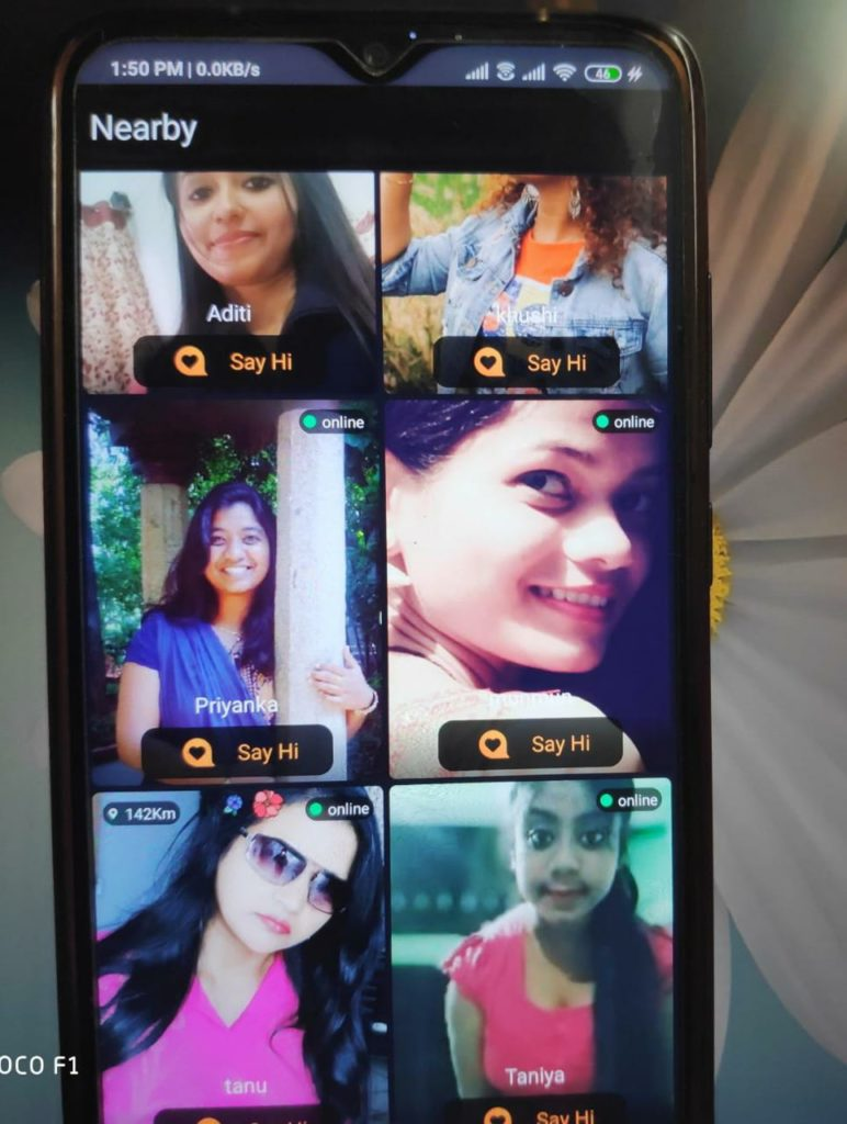 online video chatting app